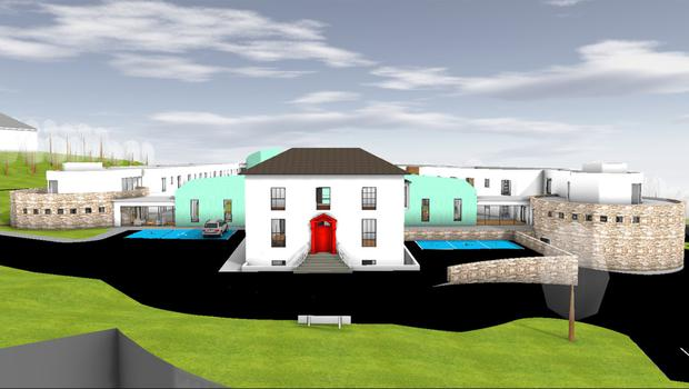 An impression of how the new nursing home will look, by Fergus Flanagan Architects