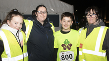 Jodie Carroll, Ann Martin, Cian Martin and Jane Roche at the event