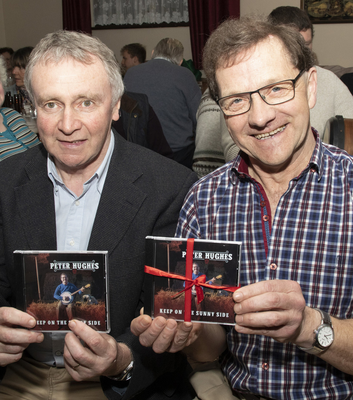 Michael Doyle who launched the CD, and Peter Hughes