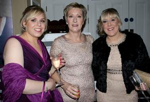 Nicola Dingemanse, Mary Farrell and Yvonne Hankey from Wexford