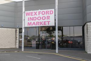 Closed: The indoor market in Wexford Retail Park