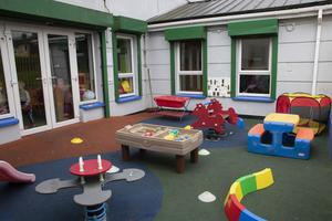 The playground area at FAB in Coolcotts