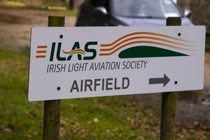 The plane took off from the ILAS airfield at Ardinagh, Taghmon