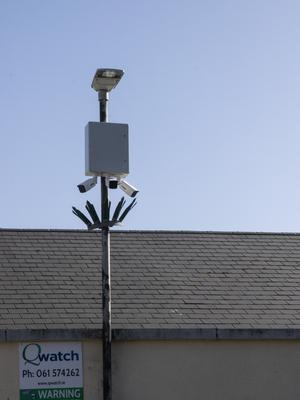 Some of the CCTV cameras installed at Talbot Green.