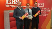 Derek Kent (Chairman Wexford GAA), Chris Gordon (EBS Wexford Mortgage Master) and Eanna Martin (Commercial Manager Wexford GAA