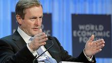 This is how big my Budget is. Enda Kenny is stretching credibility with all his talk.