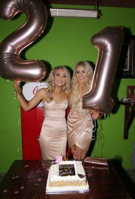 Saoirse O'Regan and Cassie McGrath jointly celebrated their 21st birthday's in Bugler Doyles on Saturday night.
