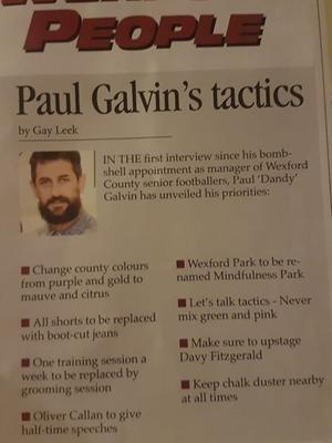 The article in The Phoenix which has generated some laughter this week