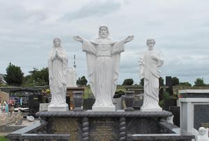 Andy Connors' grave at St Michael's cemetery.