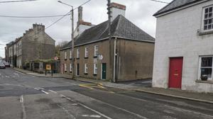 Position between two houses opposite Marsh Lane on South Street were IRA B Company were awaiting to ambush police patrol