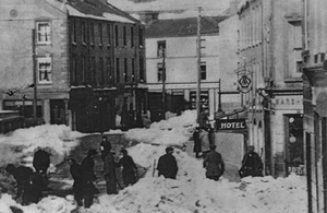 Snow brought Ireland to a halt in the winter of 1947