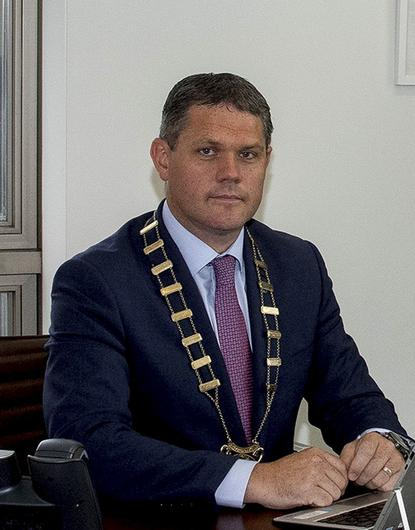 Convoy concerns: Cllr Ger Carthy, chairperson of Wexford County Council