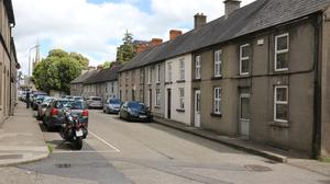 John Street Enniscorthy, where Morrissey lived with his mother