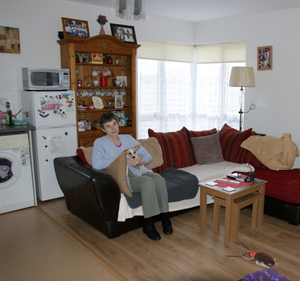 At 56, Ann Cullen is the youngest resident of the scheme.