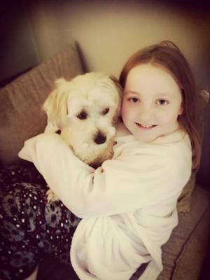 10-year-old Lucy Reville who took it upon herself to collect supplies for South East Animal Rescue