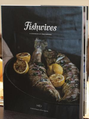 The proceeds of the 'Fishwives' book were donated to the cause