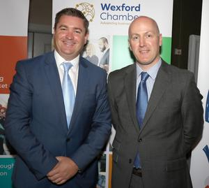 Karl Fitzpatrick, Wexford Chamber and Tom Banville, LEO