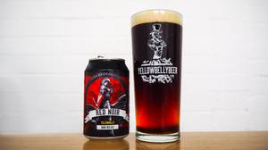 The new Red Noir ale which is the latest offering from YellowBelly.