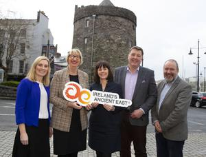Aileen Dowling, Fáilte Ireland, Maura Bell, National Heritage Park, Caoimhe Ní Dhuibhinn of Fáilte Ireland, Anthony Browne Bigbarn and Billy Byrne Co. Wexford Tourism Officer