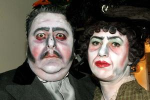 Des Whelan and Siobhan Fawsitt in the WLOS production of Sweeney Todd in 2005
