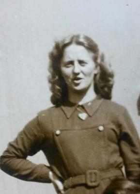 Michelle's late mother Siobhan as a young woman.