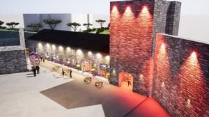 An artist's image of what the Westgate Heritage Centre could look like