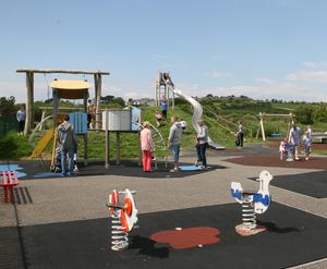 Wexford Co Council plans to build 13 more playgrounds - similar to the facility at Duncannon (pictured above) - as part of a new five-year Playground Strategy.