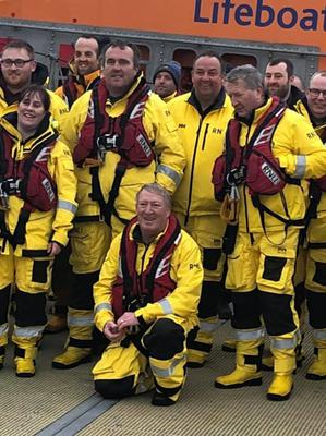 Brian was described as the 'heart and soul' of the RNLI in Kilmore Quay