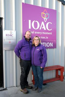 Adrian and Carmel Tennant of the IOAC Tagoat.
