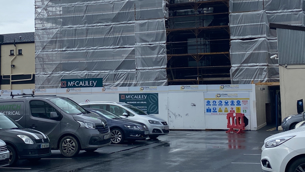 Work ongoing at McCauley's Pharmacy