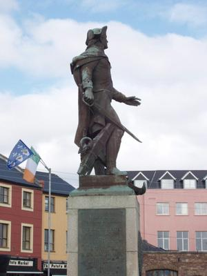 The John Barry statue
