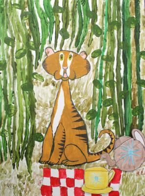 Ruth Thompson (8), The Tiger Who Came to Tea