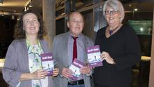 At the launch in Wexford Library: Imelda Carroll, Wexford Library; author Joe Neal; and Henneke Biewenga of Wexford Book Centre.