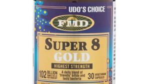 Clair Whitty: 'Udo's Choice Super 8 Gold would be my preferred microbiotic to support the gut lacto and bifido bacteria.'