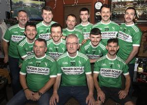 St John's Volunteers team members who took part in the fundraiser for the Movember Foundation