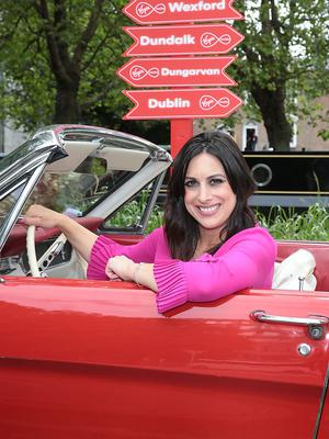 Lucy Kennedy at the launch