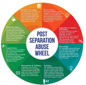 Aspects of post-separation abuse