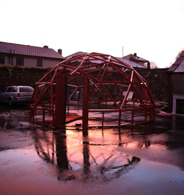 The Geodesic Dome was part of a group Sculpture Project located at the Wexford Campus of Art & Design