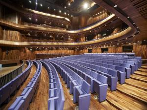 Inside and out, the Opera House now plays a leading role in the cultural life of Wexford
