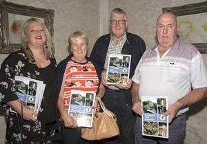 Catriona Gregg and Marian Roice (Wexford), Cllr Willie Fitzharris, and Larry Fitzharris (Clonmines)