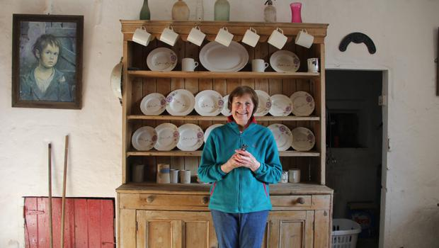 Ann Conway, from Dunmain House, Campile, with her dresser.