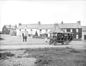 Public transport in the village of Courtown