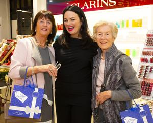 Triona McCarthy (centre), brand ambassador, with Ann Wall and Lorraine Foley from Wexford.