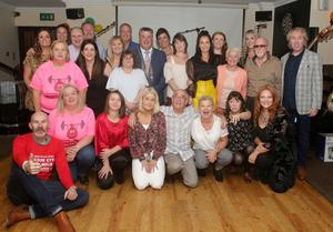 Members of Wexford Variety Group and guests at their farewell party