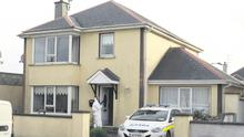 The scene in Clonroche last May after the terrible discovery.