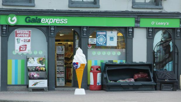 A Castlebridge man is accused of robbery at O'Leary's Newsagents in Slaney Place, Enniscorthy.