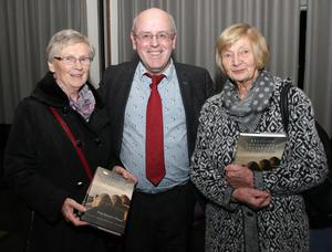 Author Kevin Whelan with Kitty O'Reilly (left) and Mary Kinsella