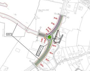 The blueprint for the new Ballygillane N25 roundabout