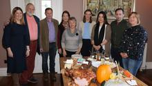 Wexford Food Family members and guests at the Taste Wexford Breakfast Showcase in Wilton Castle, Bree