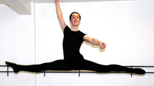 Alex Saunders of the Wexford School of Ballet and Performing Arts